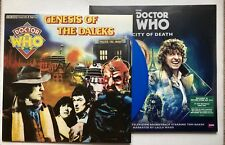 DR WHO GENESIS OF THE DALEKS + CITY OF DEATH DOUBLE RECORD STORE DAY RSD 2018