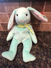 Ty Beanie Babies Hippity the Bunny Rare With Errors. Great For Easter! 🐰
