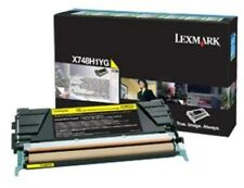 Lexmark (Yellow) High Yield Toner Cartridge (Yield 10000 Pages) for X748