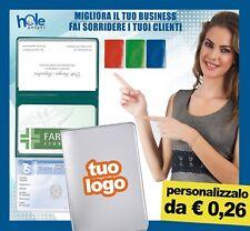 Porta carte di credito tessere portatessere plastica gadget personalizzati stock