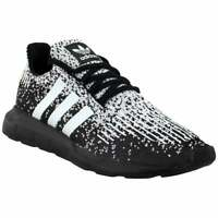 adidas Swift Run Lace Up  Mens  Sneakers Shoes Casual   - Black - Size 7 D