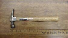 Vintage Vaughan Straight Claw Hammer,No.9-10oz. Head,XLINT Steel,W/Orig. Handle!