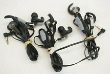 (3) Monster iSport Victory In-ear Sports Headphones Earbuds w/ Inline Mic Black