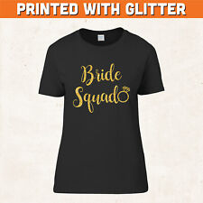 Hen Night Party Bride Squad Tribe Printed Personalised TShirt Tops Wedding Do 1