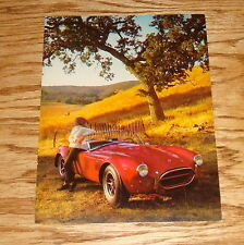Original 1966 Ford Shelby Cobra Oversized Post Card Brochure 66 Mustang