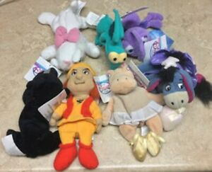 Collection of TY Beanie Babies & Disney Store Bean Bags All New with Tags