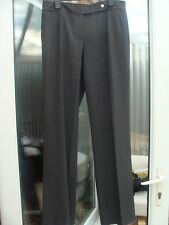 Calvin Klein Grey Classic Fit Trousers Size UK 8