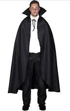 Capa vampiro dracula negra unisex carnaval Halloween disfraces
