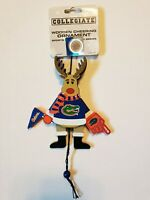 NCAA Florida University Gators Cheering Reindeer Holiday Ornament Christmas Tree