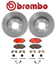 For MB NCV3 Dodge Sprinter 2500 Front Disc Brake Rotors Ceramic Pads Kit Brembo