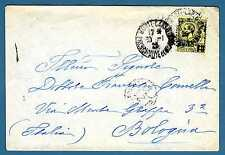 MONACO - 1924 - BUSTA- Destinazione Bologna.Principe Louis II. R683
