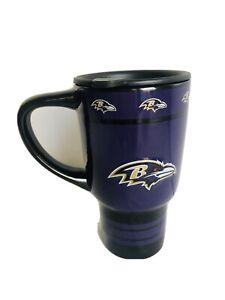 NFL Baltimore Ravens 2011-12 Ceramic Tumbler 20 oz Boeler Brands