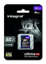Integral Ultima Pro High Speed Memory SD Card 32 GB upto 23MB/s Class 10