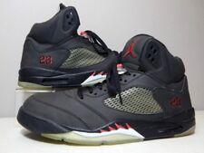 Nike Shoes - 2009 Jordan 5 V 3M Raging Bull - Black Red White - Size 14
