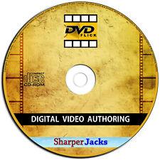 NEW & Fast Ship! DVD Flick Convert Any Video to DVD - AVI, DIVX, FLV, MOV, WMV