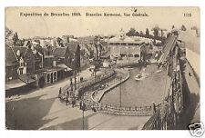 1910 Exposition de Bruxelles-  Belgium Expo -postmarked from fair