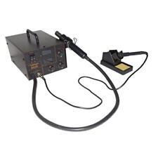 Digitale SMD Lötstation, Heißluft und Lötkolben plus Zubehör