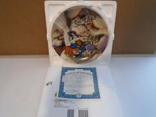 Litter Rascals Cat Nap Collectors Plate With Coa, Mint Condition