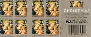 US Stamp Booklet Pane 2016 Madonna and Child # 5143 Mint Condition !