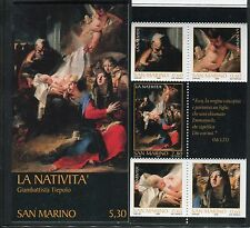 SAN MARINO 2006 NATALE-BOOKLET/ART/NATIVITY by TIEPOLO/JOSEPH/ANGEL/JESUS/MARY