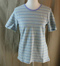 Sport Savvy, Medium, Multi-color Stripe Top, New with Tags