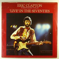 "12"" LP-Eric Clapton-Timepieces VOL. II - 'live' in the Seventies-a4216"