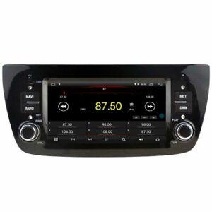 "Navi Car GPS Radio Sat Stereo for Fiat Doblo 2010-2015 6.2"" Android 10 Carplay"