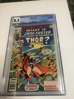 What If? (1978) # 10 (CGC 8.5)   1st App Jane Foster As Thor