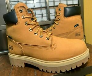 TIMBERLAND MEN SIZE 12 W WATERPROOF INSULATED WHEAT COLOR LEATHER BOOTS TB065030