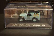 FIAT 500A Furgoncino 1948 Tre Teste diecast car in scale 1/43