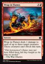 Wrap in Flames  x4 NM Modern Masters 2015 MTG Magic Cards Red Common