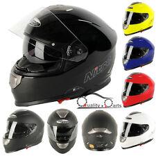 Nitro NP-1100F APEX RACING DVS Motorbike Motorcycle Helmet with Inner Sun Visor