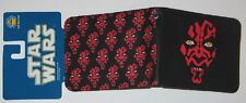 STAR WARS LUCASFILM LICENSED OFFICIAL DARTH MAUL SITH LORD MULTI FACE WALLET NEW