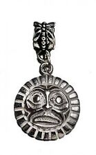 sterling silver Tribal Haida Mask jewelry bead Charm