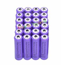 24x AA 3000mAh 2A 1.2 V Ni-MHPurple Rechargeable Battery Cell for MP3 RC Toys