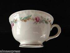 PG Pope Gosser LARGO #3195 CCP China Pink Flowers Brown Leaves TEA CUP