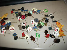 Lot of 72 Bears Badges(Teddy,Grizzly,other bears)