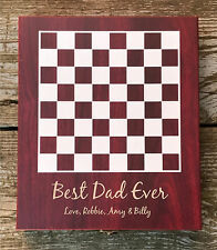 Personalized Chess Set Great Father's Day, Birthday or Special Engraved Gift