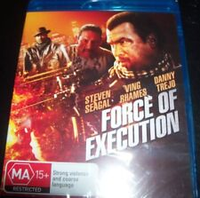 Force Of Execution (Steven seagal) (Australia Region B) Bluray – New
