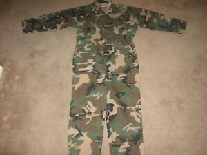 Winchester Camoflague Coveralls Size Large