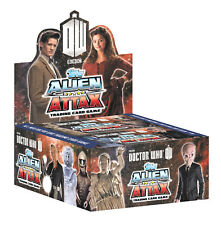 Topps Doctor Who Alien Attax Trading Card Game Booster Box (24 pks)-Popular