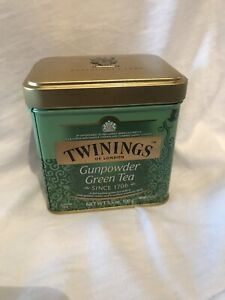 CLEARANCE TWININGS Gunpowder Loose Green Tea Tin 100g 3.5oz- Best by Sep 14 2020