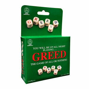 Greed Travel Edition Board Game - Genuine Authentic Goliath Game NEW