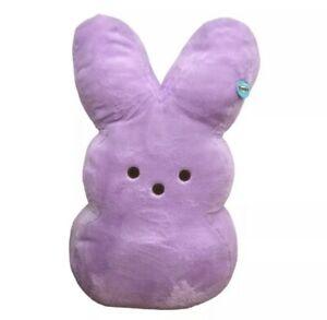 """PEEPS®️ Giant 38"""" PURPLE Marshmallow Jumbo Plush Easter Bunny New Jumbo - NEW"""