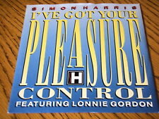 "SIMON HARRIS - (I'VE GOT YOUR) PLEASURE CONTROL  7"" VINYL PS"