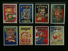 1985 ItaLY SGORbiONS 1St Series N.1 GPK * GaRbaGe PaiL KidS * LOt of 8 diffeReNt