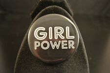 "Girl Power Lot of 12 Buttons Large 2 1/4"" pin pinback badges Women Empowerment"