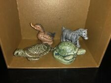 Wade Whimsie Set Of 4 Figurines Made In England