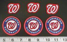 Washington Nationals MLB Team Fabric Iron On Applique Patch NO SEW Shirt Craft