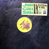 "Johnny Clegg & Savuka ‎12"" Scatterlings Of Africa - Promo V-15447 - USA (EX/EX+)"